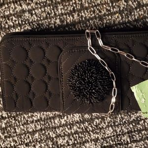 Vera Bradley Black wallet/purse